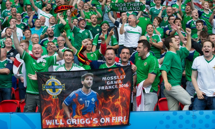 f72aad9a23c Northern Ireland progress after keeping Germany down to a single-goal win |  Football | The Guardian