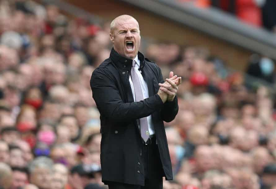Sean Dyche will be hoping for a first Premier League point.