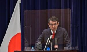 Japan's coronavirus vaccination tsar Taro Kono