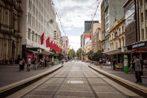 Melbourne's Bourke Street