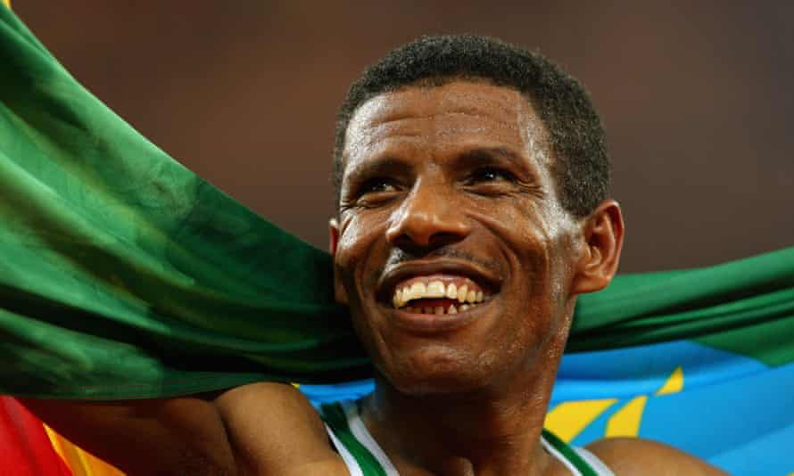 Running legend: the event's founder Haile Gebrselassie.