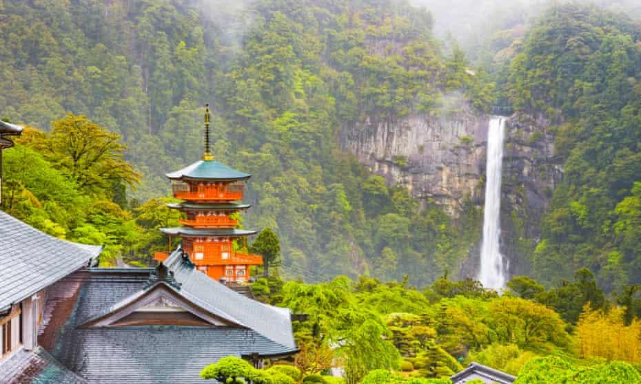 Nachi no Taki waterfall.