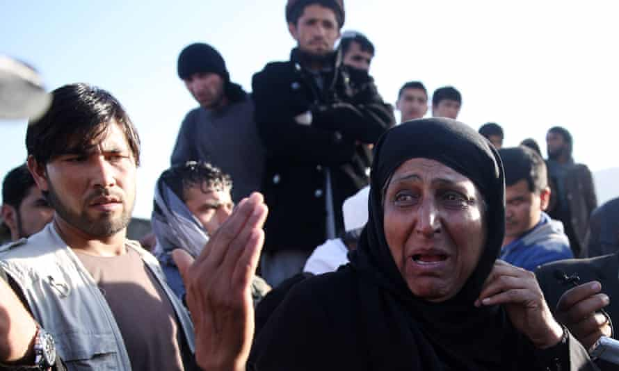 A woman recounts the suicide attack in Kabul.