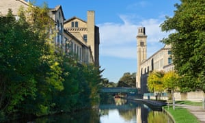 Salts Mill at Saltaire, one of Bradford's great attractions