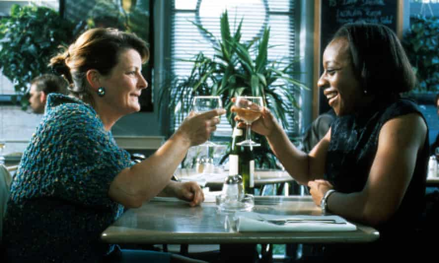 Oscar nominated … Blethyn with Marianne Jean Baptiste in Secrets and Lies.