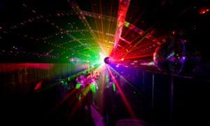 Nightclub lightshow