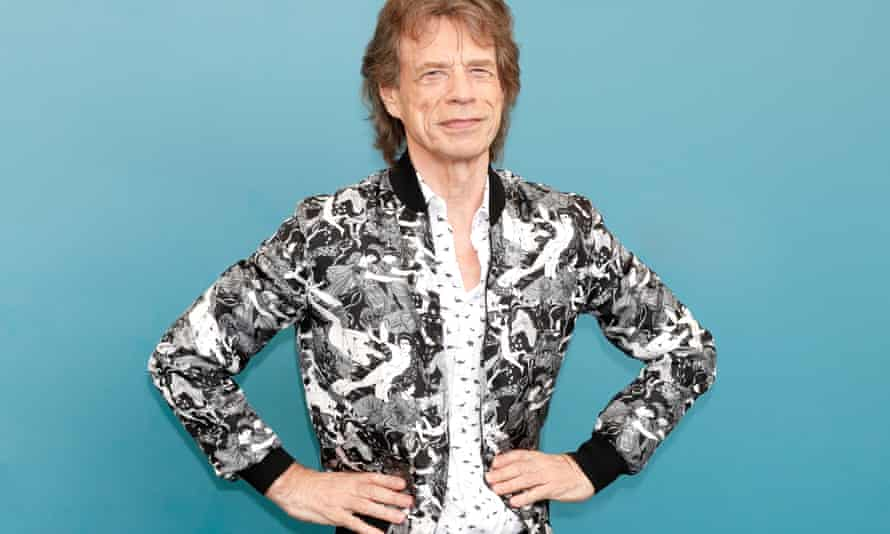 'Everything's gonna get real freaky' ... Mick Jagger.