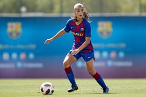 Jana Fernández is only 18 but could make her European debut at right-back if neither Marta Torrejón or Ana Maria Crnogorcevic are passed fit.