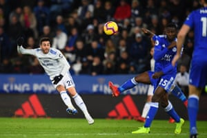Camarasa curls in a late goal for Cardiff.