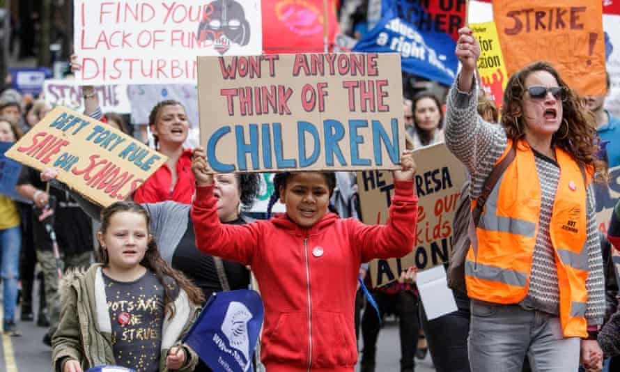 Protesters in Bristol march against education cuts in May.