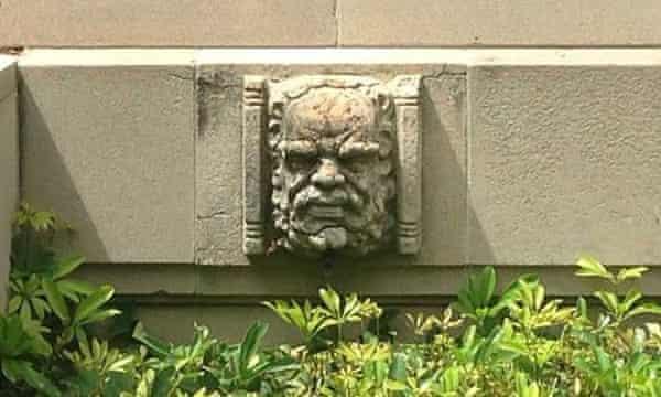 AWM gargoyle-like face