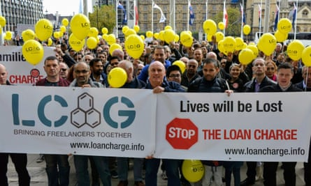 Loan Charge Action Group protest