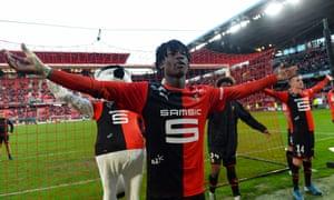 Eduardo Camavinga scored his first goal of the season this weekend.