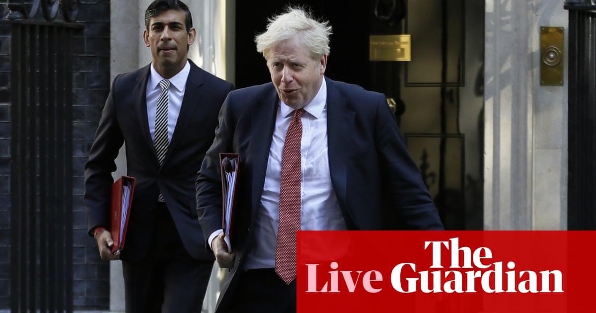 Coronavirus live: Boris Johnson and Rishi Sunak will now isolate after anger following health secretary's diagnosis