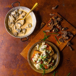 Best ever mushrooms on toast by Simon Hopkinson. Food and prop styling by Polly Webb-Wilson