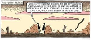 Tom Gauld 16th March 2019 cartoon