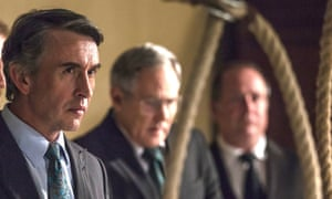 Steve Coogan defends a traumatised prison guard turned killer in Shepherds and Butchers.
