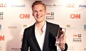 Claas Relotius won a CNN award for his journalism in 2014.