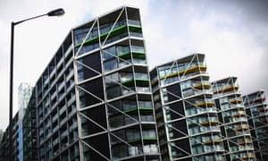 The Embassy Gardens luxury residential development in Battersea, London