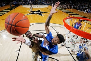 Nashville, US. Kentucky Wildcats take on the Vanderbilt Commodores in an NCAA game