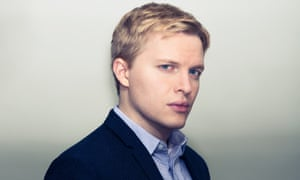 Ronan Farrow photographed in London last week by David Vintiner for the Observer New Review.