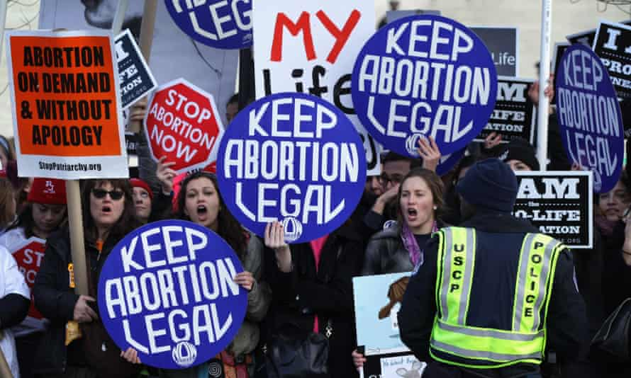 The group of four senators wrote they were 'alarmed that your opposition to abortion care – as stated in the letter – harms women and families, as well as endangers millions of women and girls'.