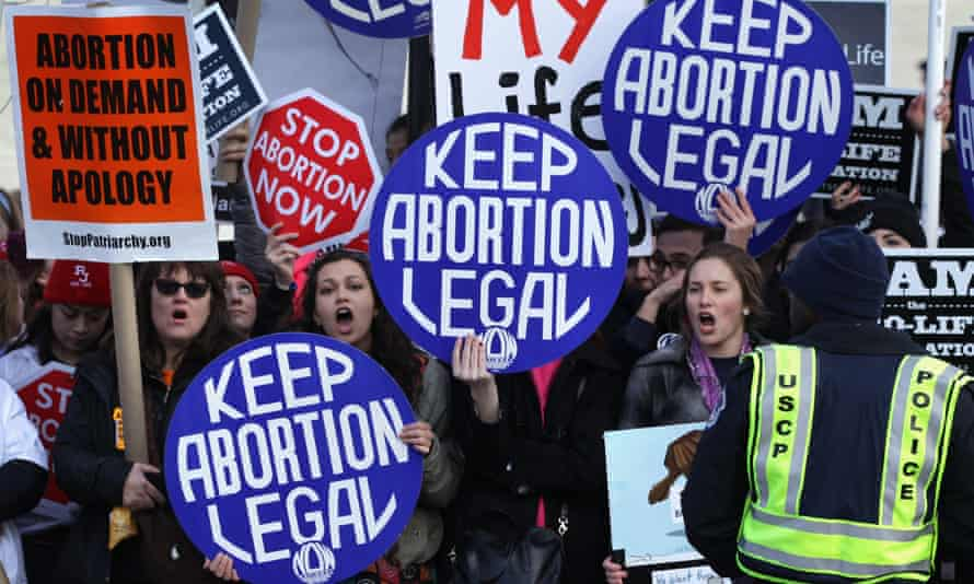 'In 2019, public support for abortion rights is the highest it has been in 20 years of polling, according to the Pew Research Center.'