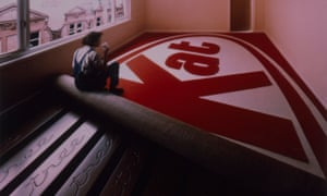 Flowers' Kit Kat advert, which used fibreglass panels to create floorboards in the shape of chocolate fingers.