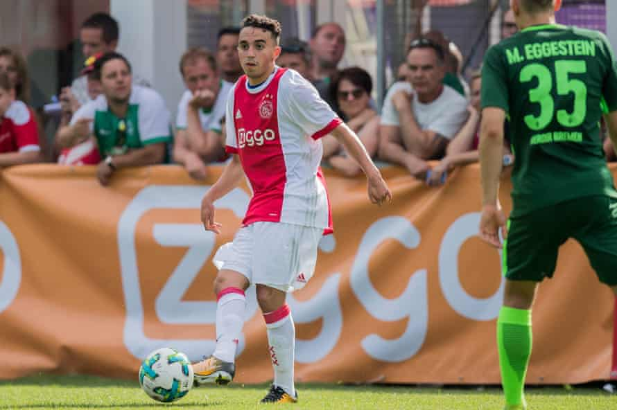 Nouri earlier during the friendly with Werder Bremen.