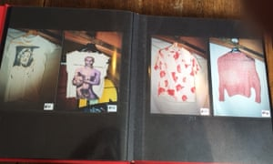 Examples of Joe Corré's punk memorabilia