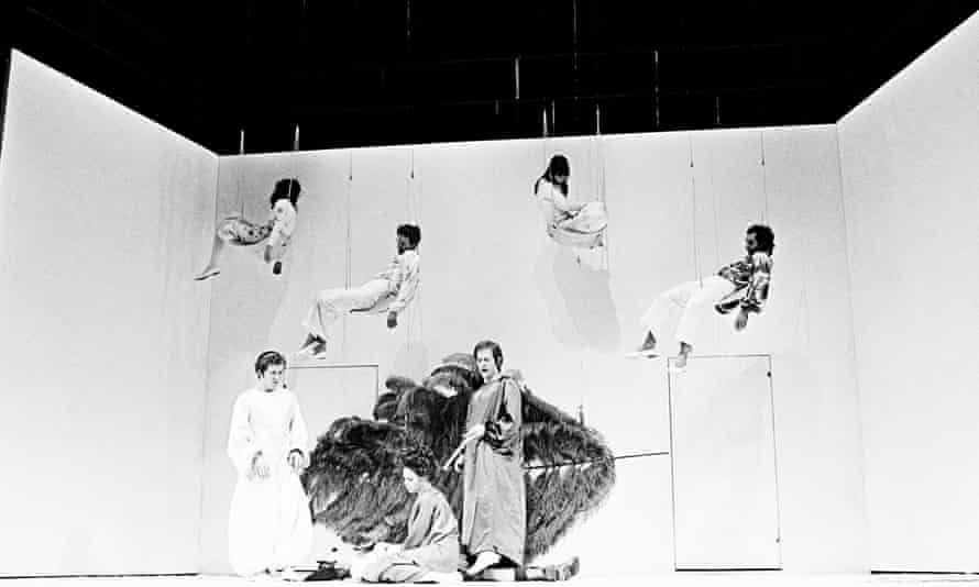 The RSC's A Midsummer Night's Dream, 1970, directed by Peter Brook and designed by Sally Jacobs.