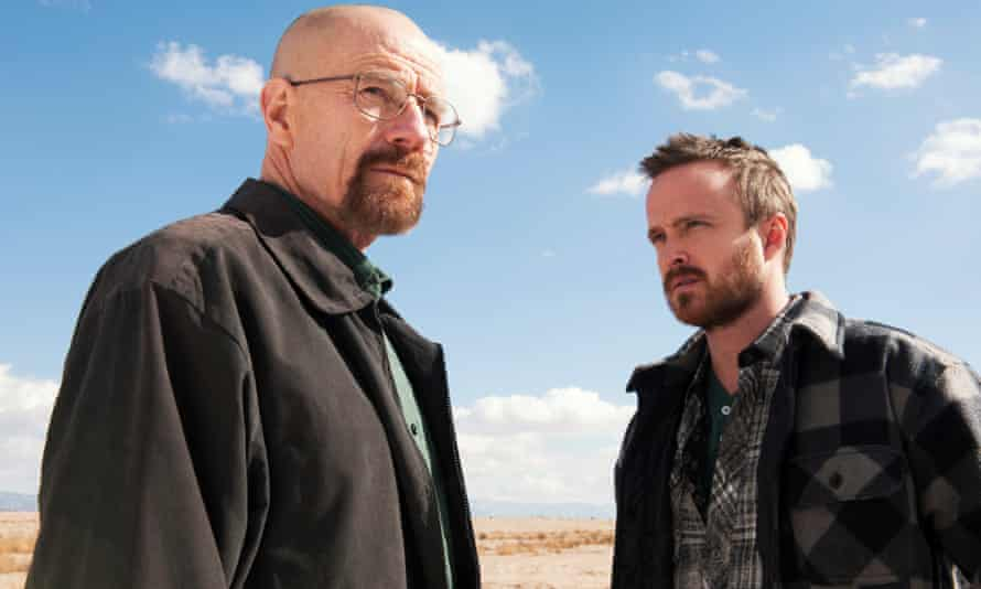 Bryan Cranston (left) and Aaron Paul in the cult drama Breaking Bad, which featured ricin in at least one storyline.