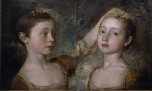 The Painter's Two Daughters by Thomas Gainsborough.
