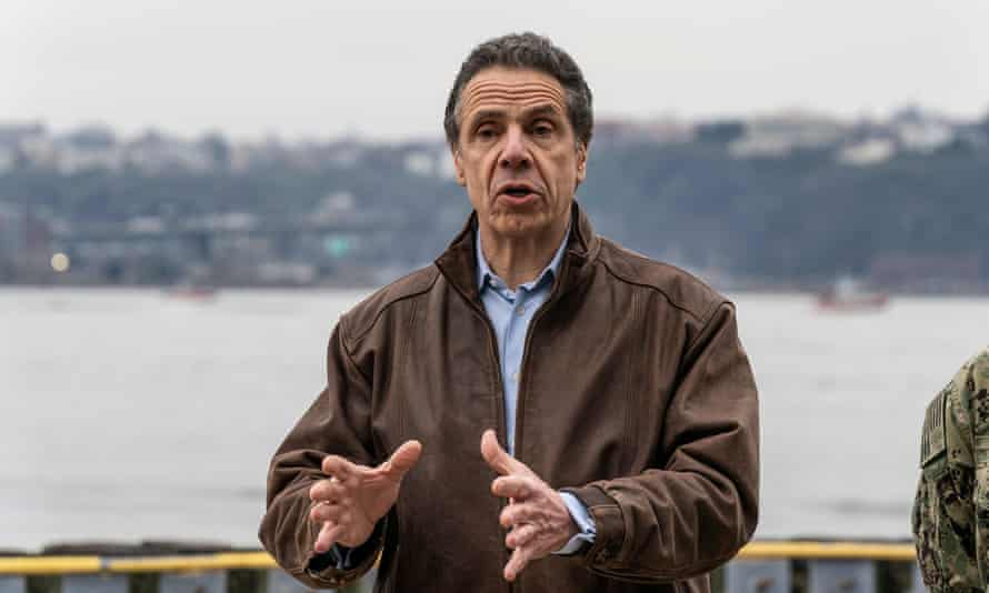 Governor Andrew Cuomo of New York: 'You have 50 states competing to buy the same item.'