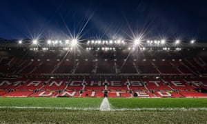 Manchester United's Old Trafford stadium, pictured in February.