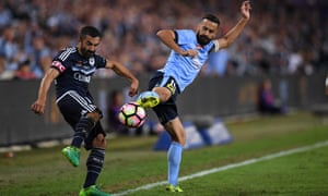 Alex Brosque and Fahid Ben Khalfallah.