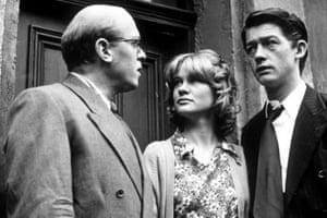 Playing the the wronged Timothy Evans in 10 Rillington Place, with Judy Geeson and Richard Attenborough, 1971