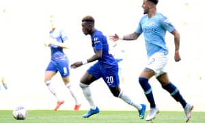 Chelsea's Callum Hudson-Odoi was a beneficiary of Whitgift School bursary scheme.