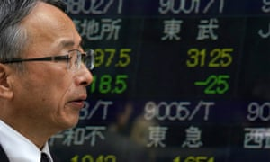 Asian stocks fell for a third day on Monday amid mounting fears about US-Chinese trade tensions.
