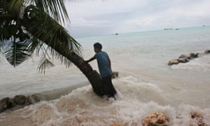 Kiribati king tide