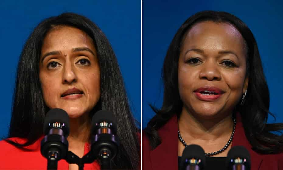 Vanita Gupta and Kristen Clarke bring a long and tireless history of advocacy to the Biden department's top tiers