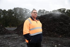 Pat Keating, the Shellharbour site manager.