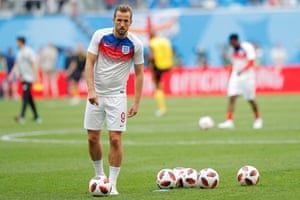 Harry Kane was looking to add to his tournament tally of six goals.
