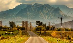 The rugged mountainous countryside of Ruatoria, where Māori iwi are setting up coronavirus roadblocks