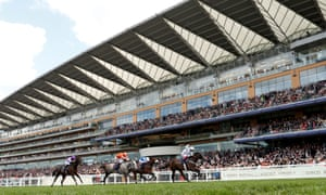 The grey Forever In Dreams chased home Advertise in the Commonwealth Cup at Royal Ascot.