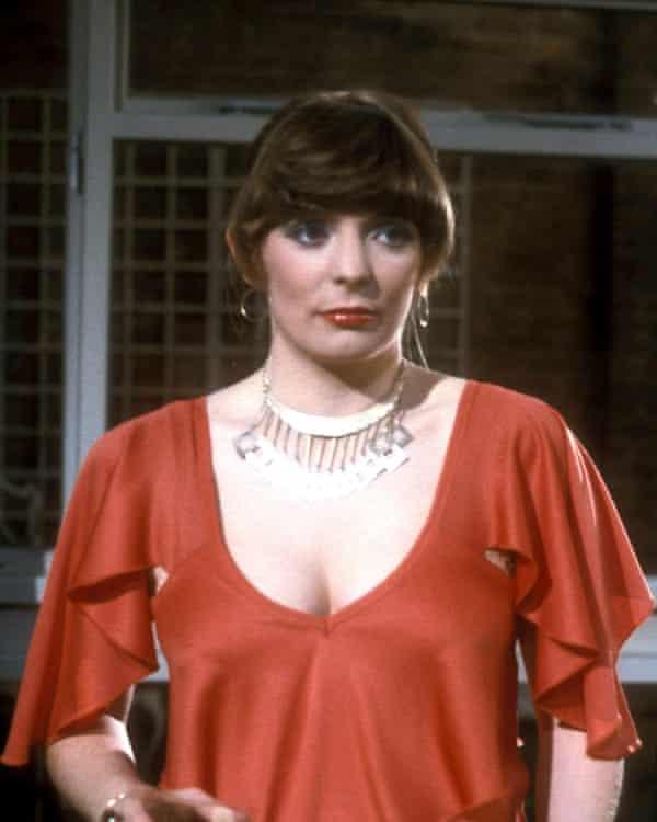 Alison Steadman in Abigail's Party, 1977.