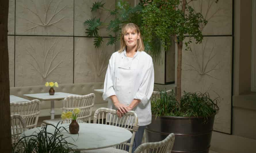 Skye Gyngell, is an Australian chef who is best known for her work as food editor for Vogue, and for winning a Michelin star at the Petersham Nurseries Cafe. She first trained as a chef in France, and afterwards moved to Britain.