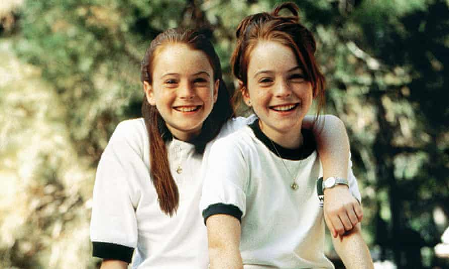 Linday Lohan doubles up for the lead roles in The Parent Trap.
