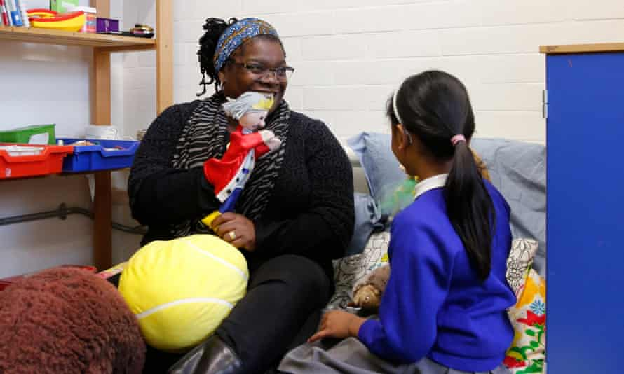 Soft power: the charity Place2Be provides drop-in centres for children