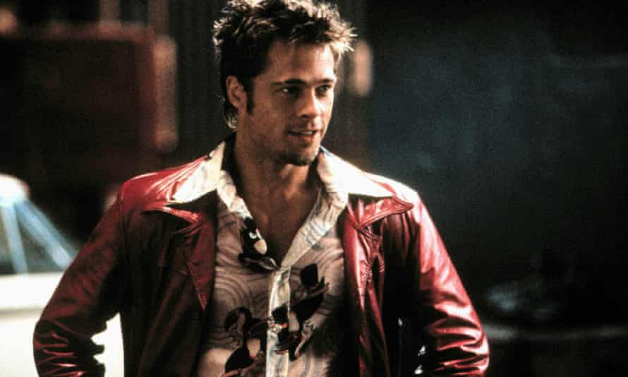 Eerily familiar … Brad Pitt as Tyler Durden in David Fincher's 1999 film of Fight Club.